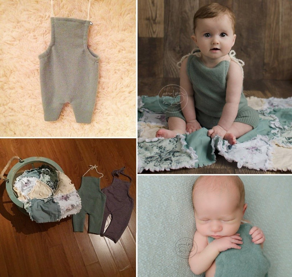 pure-natural-newborn-photography-gatineau-ottawa-birth-baby-and-belly-photographer-sitter-romper-sage-green-rag-quilt-plum-lavender-purple-outfit-pr